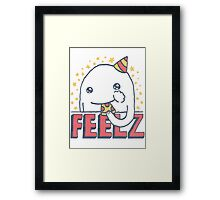 ALL OF THE FEELZ... Framed Print