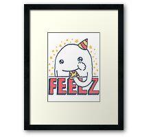 ALL OF THE FEELZ... Framed Print