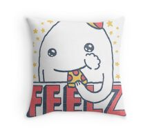 ALL OF THE FEELZ... Throw Pillow