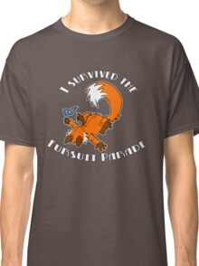 I Survived The Fursuit Parade (Fox) Classic T-Shirt