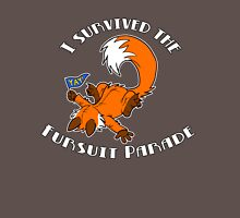 I Survived The Fursuit Parade (Fox) Unisex T-Shirt