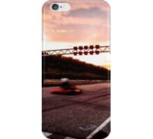 Racing into the sunset iPhone Case/Skin