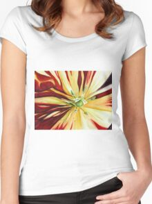 Heat Wave Women's Fitted Scoop T-Shirt