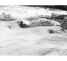 Water & Stone Photographic Print
