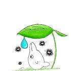 Totoro's friend by Gaia Romei