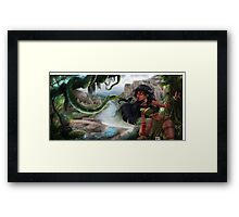 Ni in the forest Framed Print