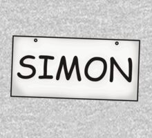 Simon's Sign Baby Tee