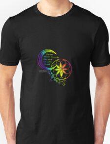 Rainbow Inspirational Dream Quote Unisex T-Shirt