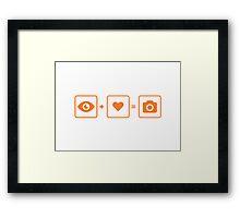 icons Framed Print