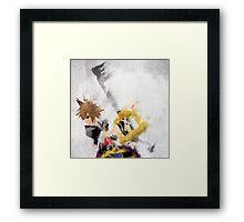 Sora Framed Print