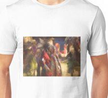 Impressionistic Pow Wow 5 Unisex T-Shirt
