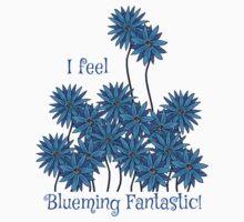 I Feel Blueming Fantastic One Piece - Short Sleeve