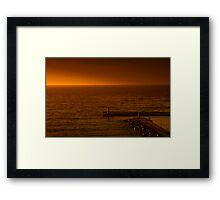 Kalk Bay Sunrise Framed Print