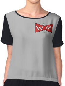 Witless Minions Band Logo Chiffon Top