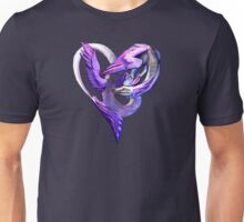 Ace of Dragons: Hearts Unisex T-Shirt