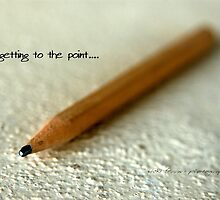 Getting To The Point © Vicki Ferrari by Vicki Ferrari