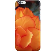 Orange Beauty iPhone Case/Skin