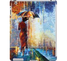 Mary the Umbrella Girl abstract art painting iPad Case/Skin
