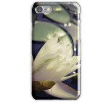Water Lily at Sunset iPhone Case/Skin
