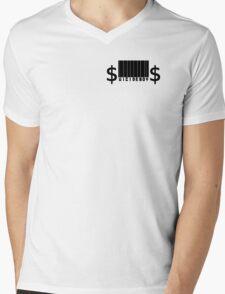 $uicide Barcode Mens V-Neck T-Shirt