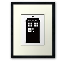 DR WHO  ..  NOW OPEN FOR BUSINESS! Framed Print