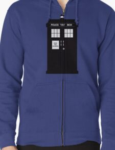 DR WHO  ..  NOW OPEN FOR BUSINESS! Zipped Hoodie