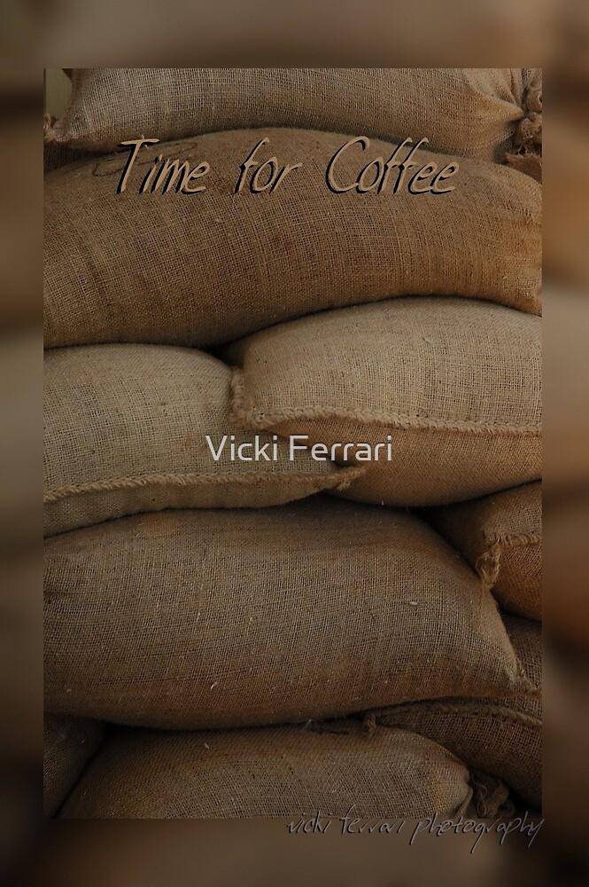 Coffee Time Card © Vicki FerrarI by Vicki Ferrari