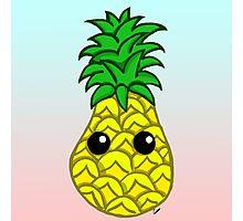 Cute Pineapple Photographic Print