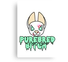 Purebred Bitch Canvas Print