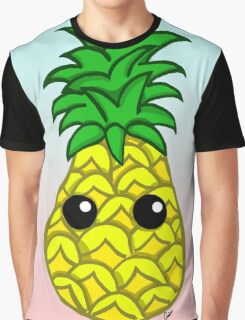 Cute Pineapple Graphic T-Shirt