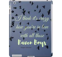 The Raven Boys, In Love iPad Case/Skin