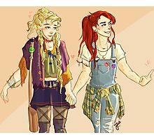 Ginny and Luna Photographic Print