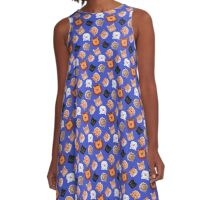 Smiley cats A-Line Dress