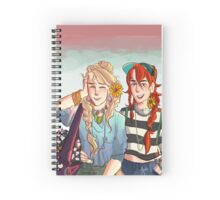 Luna and Ginny Spiral Notebook