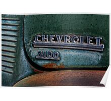 30's Chevy PU Poster
