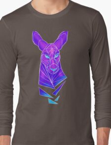 Vector roo midnight marsupial Long Sleeve T-Shirt