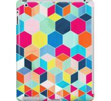 Super Bright Color Fun Hexagon Pattern iPad Case/Skin