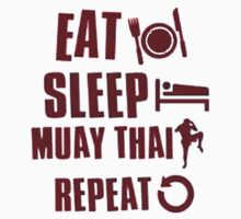 Eat Sleep Muay Thai Repeat by INoyZz