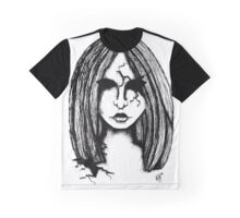Cracked Porcelain Doll Graphic T-Shirt
