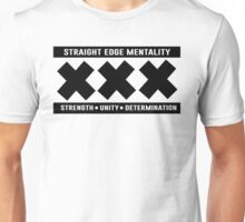 XXX STRAIGHT EDGE SHIRT  Unisex T-Shirt