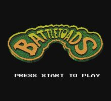 Battletoads START! One Piece - Short Sleeve