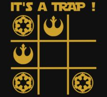 Fan T shirt Star Wars  - T shirt It's a Trap ! A Tic Tac Trap ! by Cidelacomte