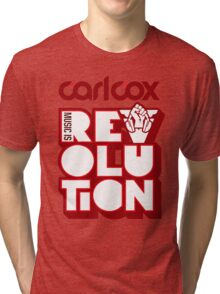 Carl Cox ~ Music is Revolution ~ Tri-blend T-Shirt