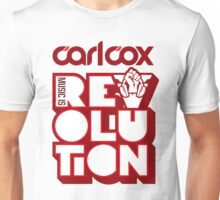 Carl Cox ~ Music is Revolution ~ Unisex T-Shirt