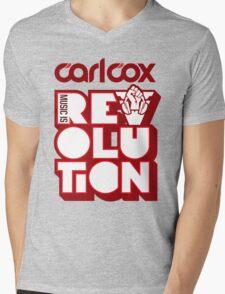 Carl Cox ~ Music is Revolution ~ Mens V-Neck T-Shirt