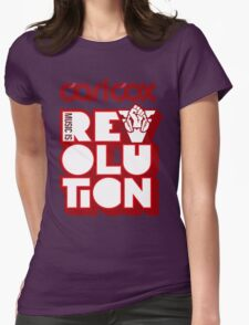 Carl Cox ~ Music is Revolution ~ Womens Fitted T-Shirt