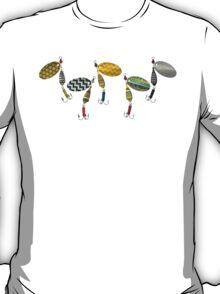 chevron spinners blue T-Shirt