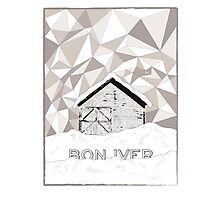Bon Iver  Photographic Print