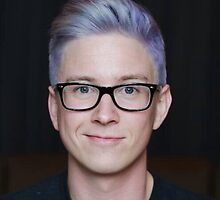 Tyler Oakley  by Jess Evans-Equeall