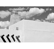 New Mexico Building Abstract Photographic Print